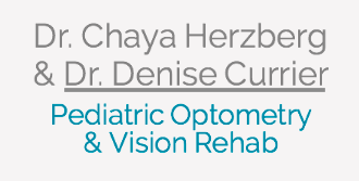 Dr. Chaya Herzberg and Dr. Denise Currier- Pediatric Optometrists and Vision Rehab
